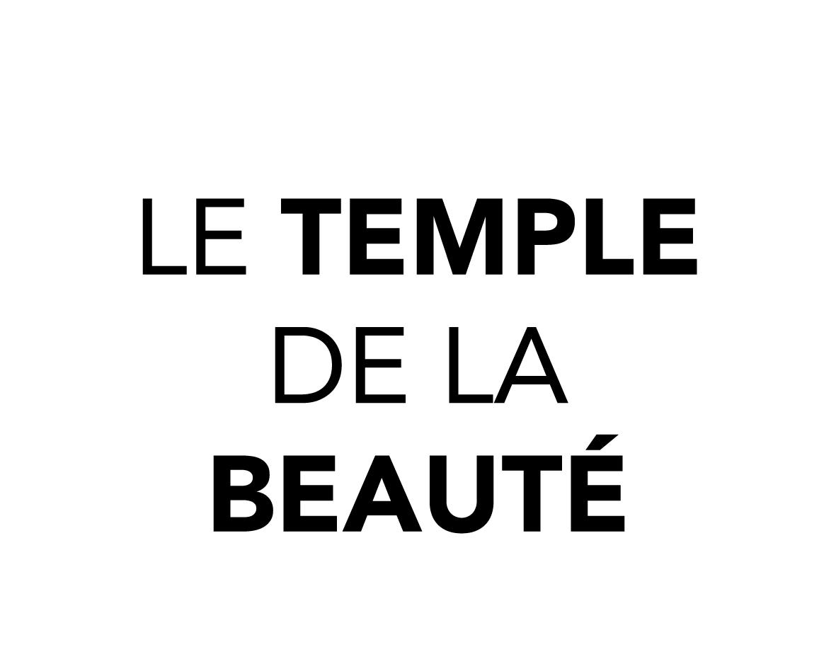 Le Temple de la beauté
