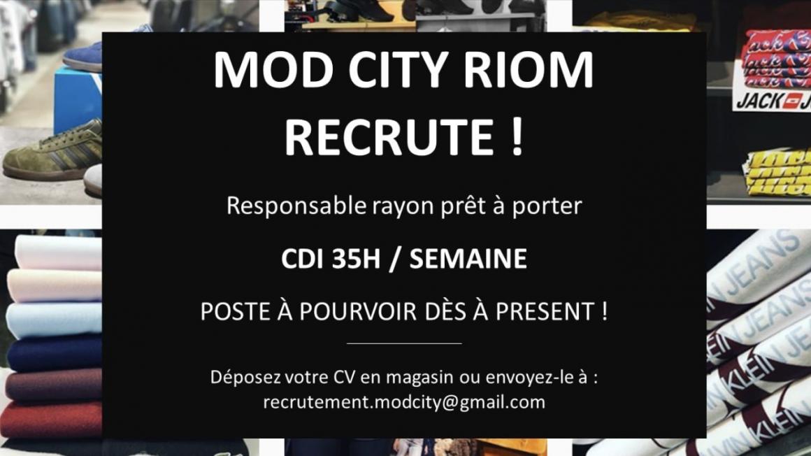 Mod City recrute !
