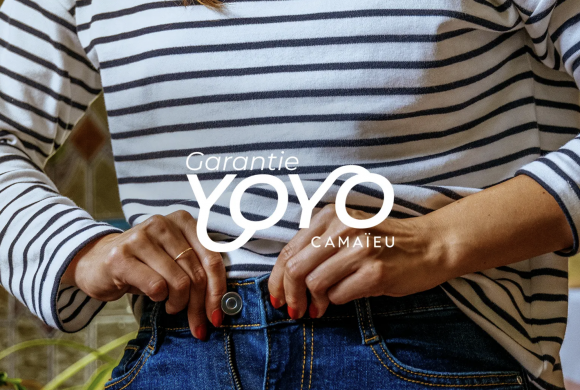 Découvrez la garantie Yoyo par Camaieu !